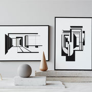 Numbered and delivered professionally framed illustrations by Kristina Dam studio