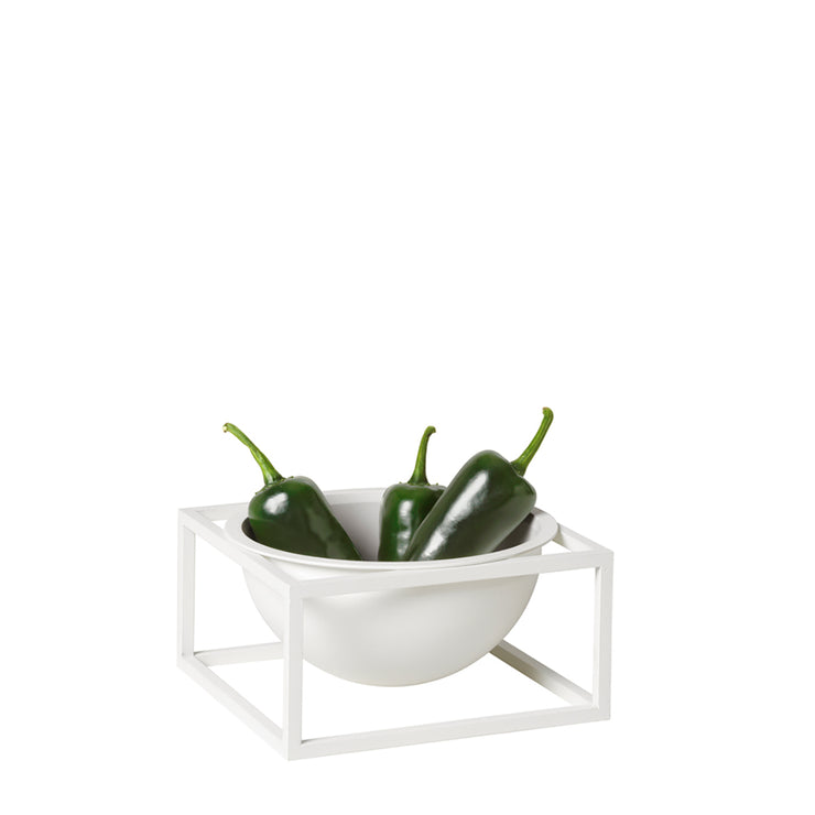 By Lassen Bowl Centerpiece, Small, White