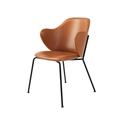 By Lassen, Lassen Chair, Leather, Silk, 0250 Cognac