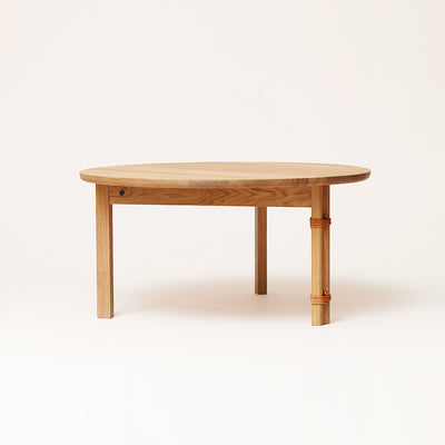 Form & Refine Strap Sofa Table, Oak