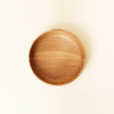 Form & Refine Section Wooden Bowl, Large