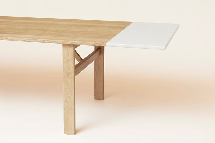 Form & Refine Damsbo Master Dining Table, White Oak