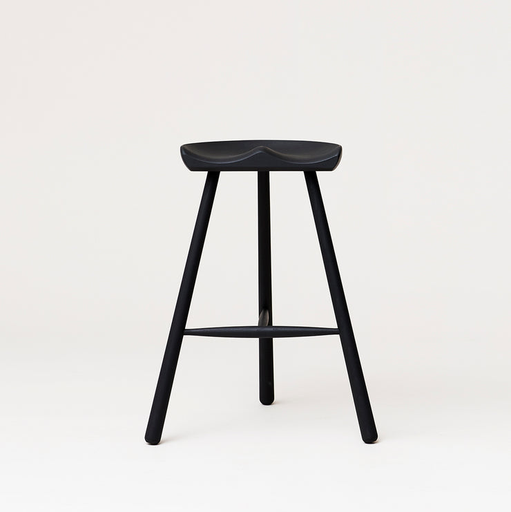 Form & Refine Shoemaker Chair™, No. 68, Black-stained Beech