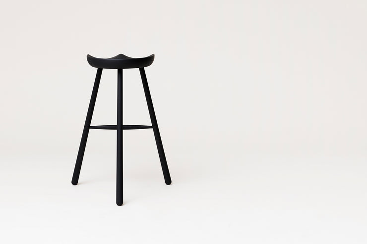 Form & Refine Shoemaker Chair™, No. 78, Black-stained Beech