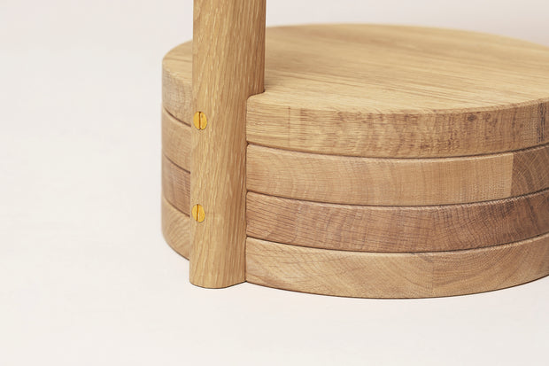 Form & Refine Stilk Side Table, White Oak