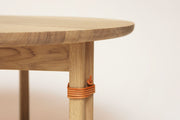 Form & Refine Strap Sofa Table, White Oak