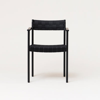 Form & Refine Motif Armchair, Black-stained Oak