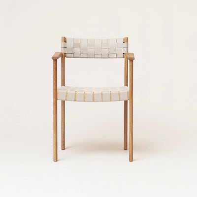 Form & Refine Motif Armchair, Oak