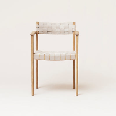 Form & Refine Motif Armchair, White Oak