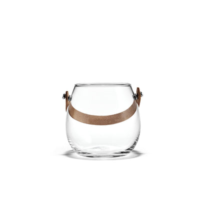 Holmegaard Design with Light Clear Pot, 4.3""