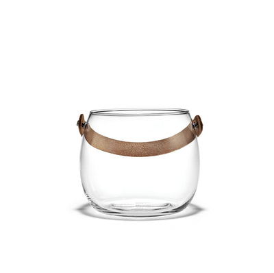 Holmegaard Design with Light Clear Pot, 6.1""