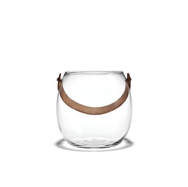 Holmegaard Design with Light Pot, Clear