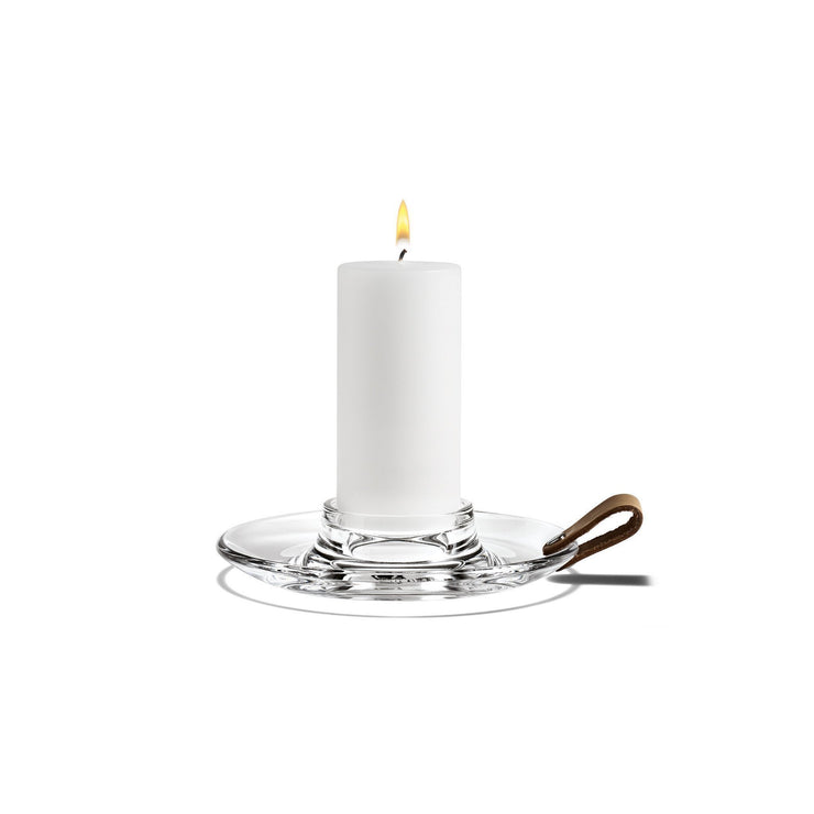 Holmegaard Design with Light Candleholder, 6.7""