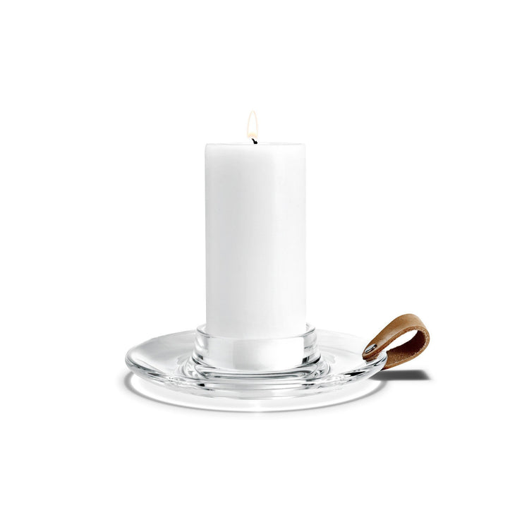 Holmegaard-Design-with-Light-Candleholder-7.5""