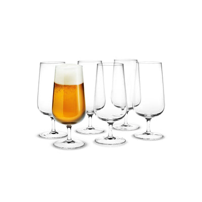 Holmegaard-Bouquet-Beer-Glass-6Pcs.