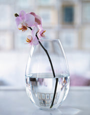 Cocoon Vase, Clear