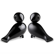 Lovebirds, Black, Set of 2 (1950)