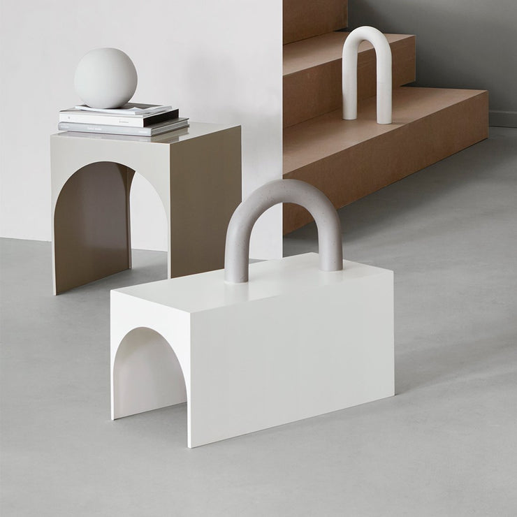 Kristina Dam Studio Arch Table, Beige