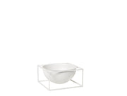 By Lassen Bowl Centerpiece, Large, White