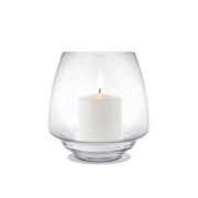 Flow Candleholder, Clear