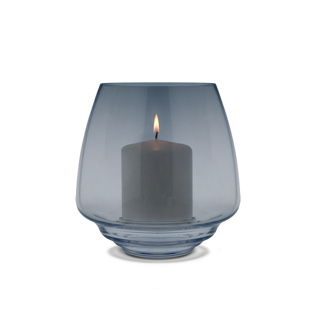 Flow Candleholder, Blue