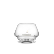 Holmegaard Flow Tealight Holder, Clear