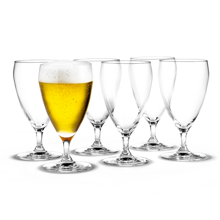 Holmegaard-Perfection-Beer-Glass-6Pcs.