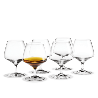 Holmegaard-Perfection-Brandy-Glass-6 Pcs.