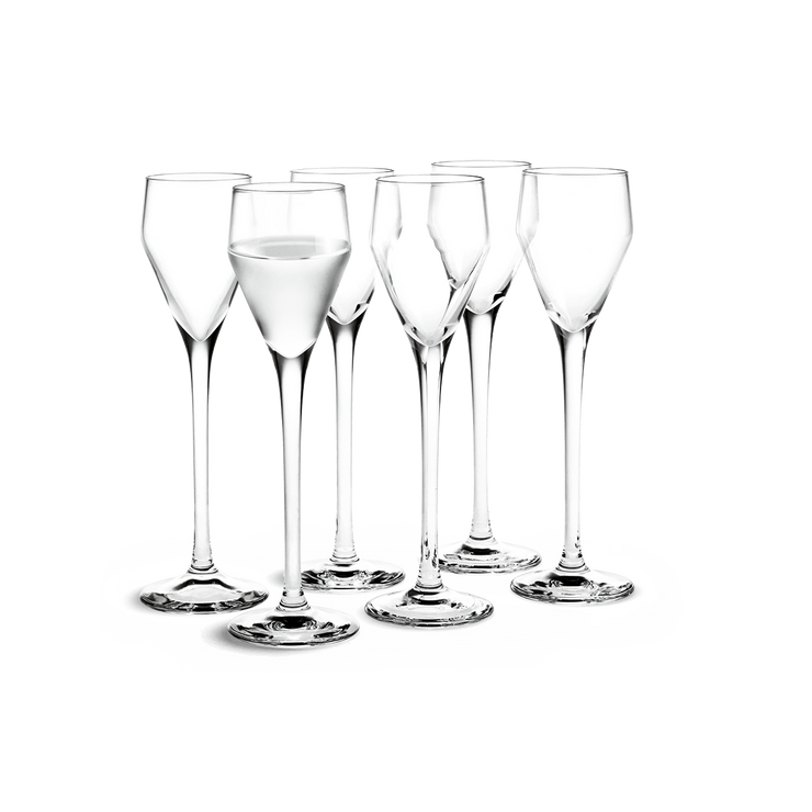 Perfection Aquavit Glass, 6 Pcs.