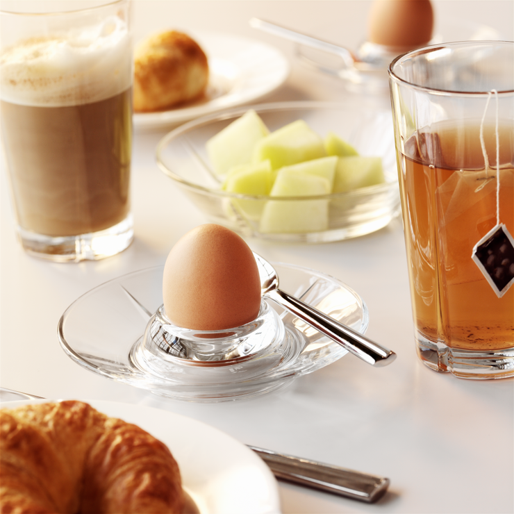 Grand Cru Glass Egg Cup, 2 Pcs.