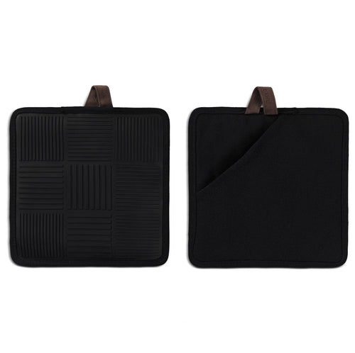 Nana Ditzel Pot holders, Black