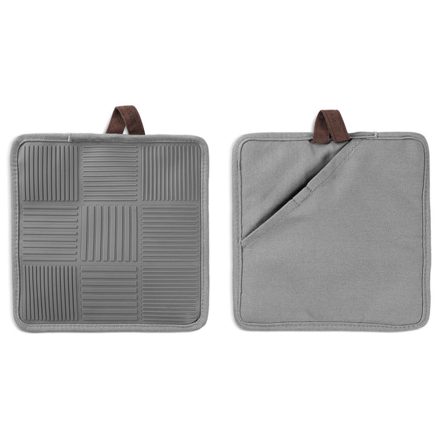 Nana Ditzel Pot holders, Grey