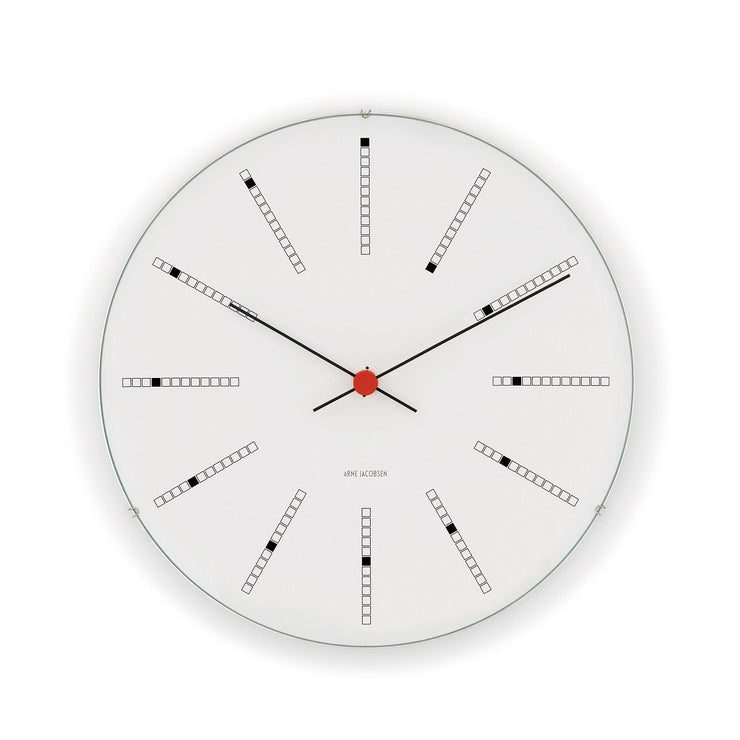 Bankers Wall Clock, 6.3""