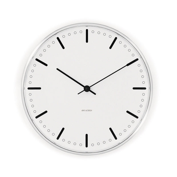 Arne Jacobsen City Hall Clock, 8.3""