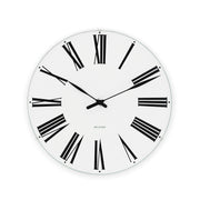 Arne Jacobsen Roman Wall Clock, 11.4""