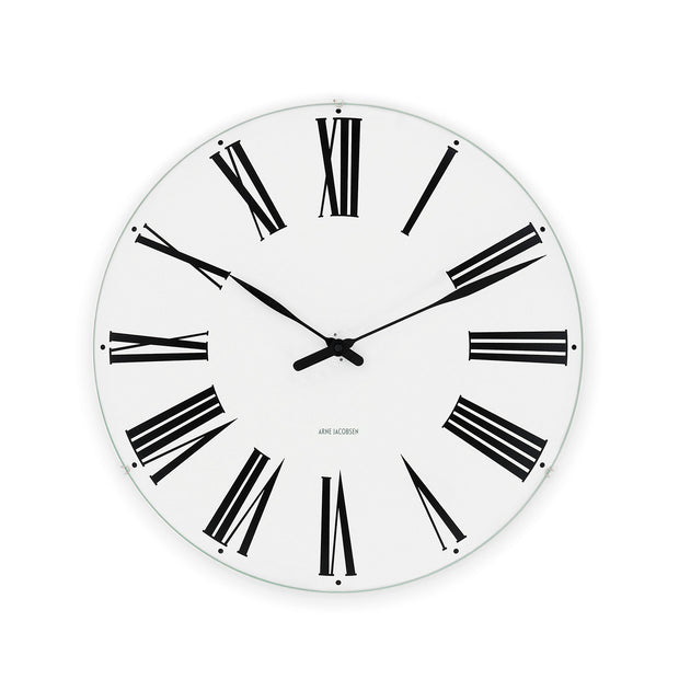Arne-Jacobsen-Roman-Wall-Clock-19""
