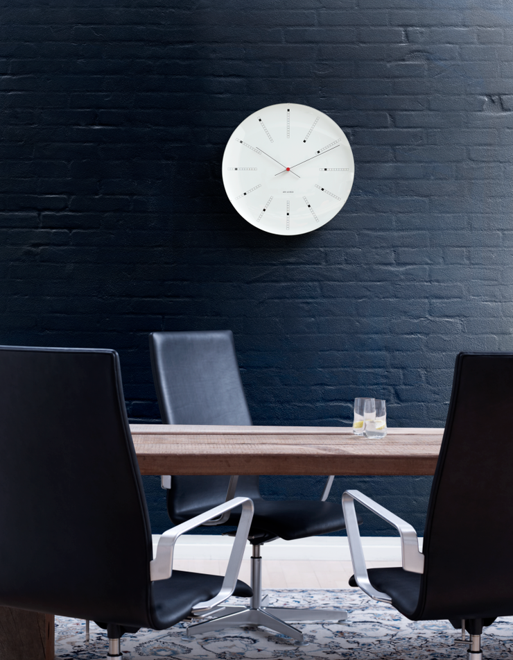 Arne-Jacobsen-Bankers-Wall-Clock-19""