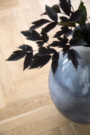 Kähler Unico Floor Vase, Dark Grey, 20""
