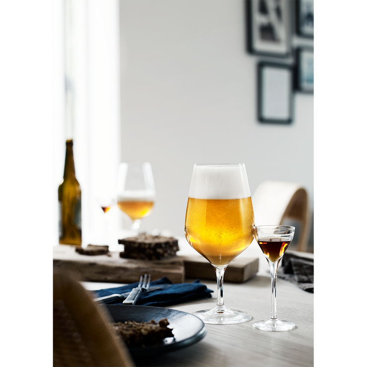 Holmegaard Cabernet Beer Glass, 6 Pcs.