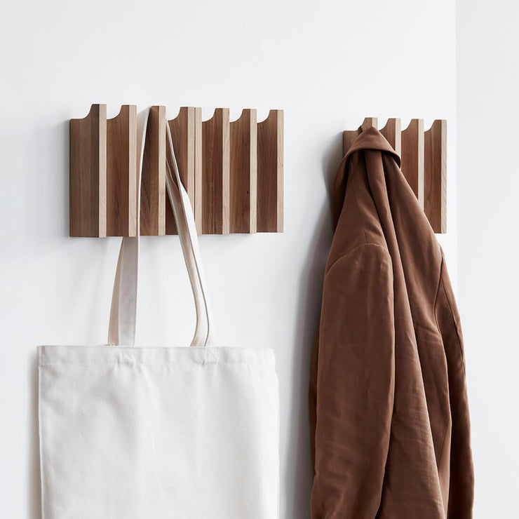 kristina dam studio column coat rack oak