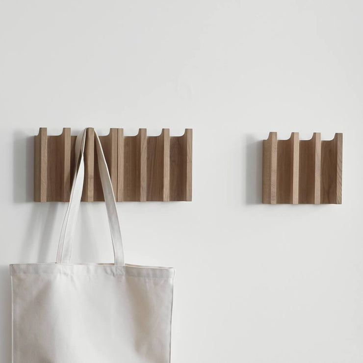 kristina dam studio small coat rack oak