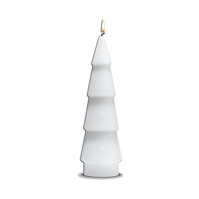 Design With Light Advent Candle, 7.5""