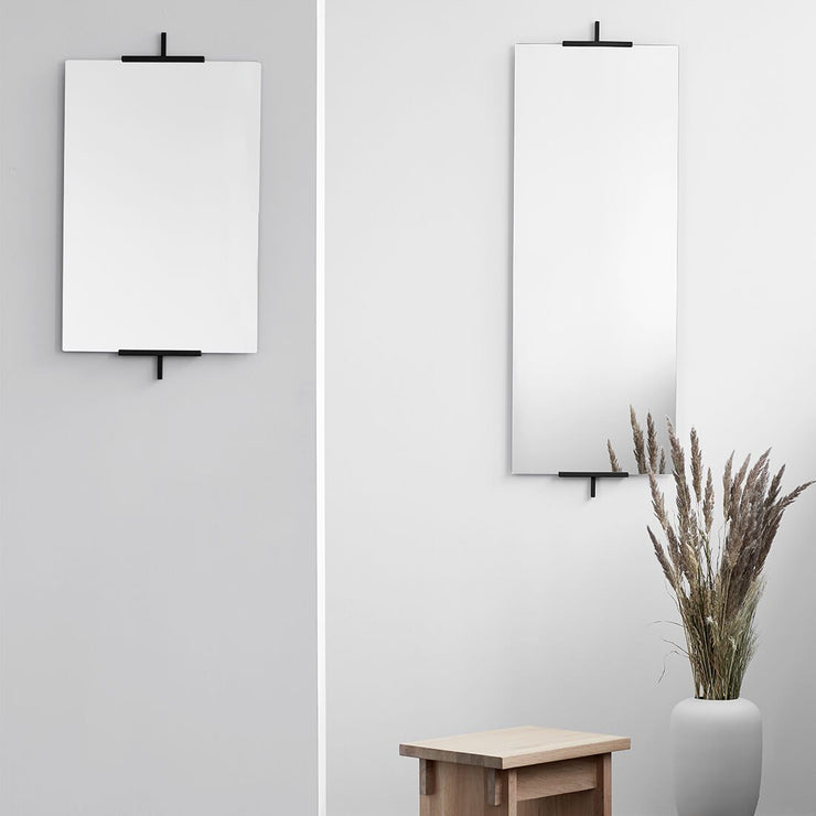 easel shaped inspired small mirror kristina dam studio