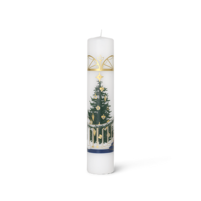 Holmegaard Christmas Advent Candle 2020 Multi