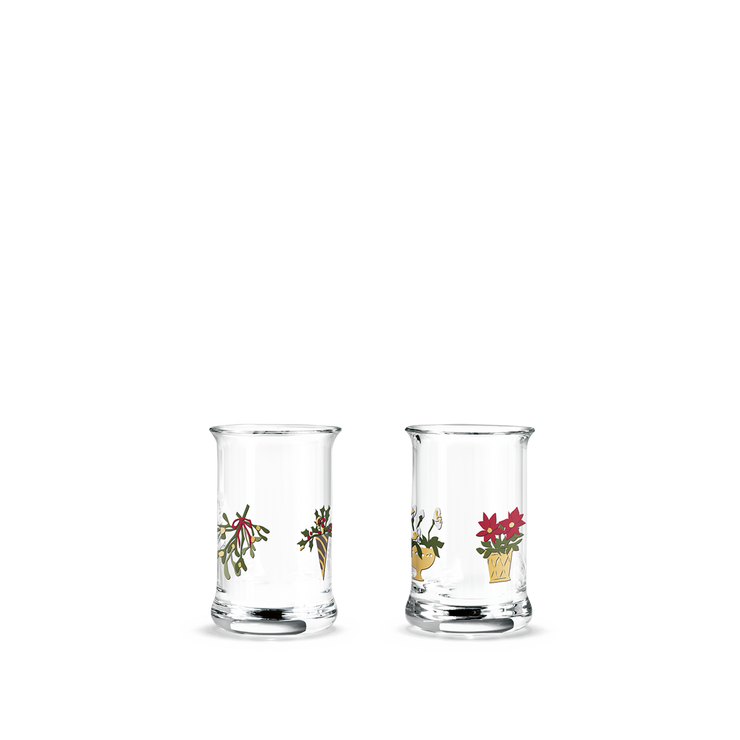Christmas 2019 Dram Glass, 2pcs.
