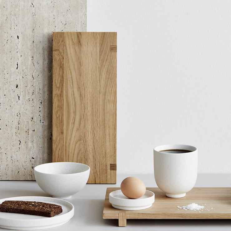 oak wood serving board tray kristina dam studio