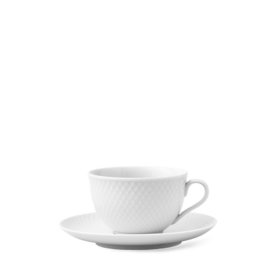 Lyngby-Rhombe-Cup-w/Saucer-2 Pcs.