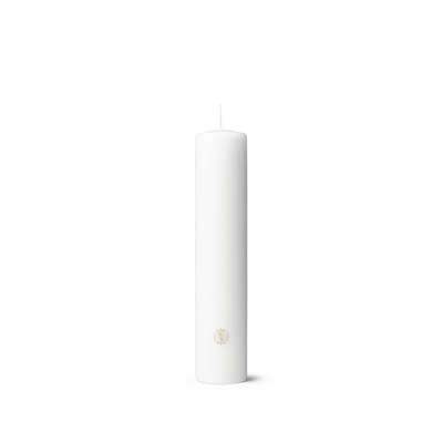 Rhombe Block Candle, 9.8""