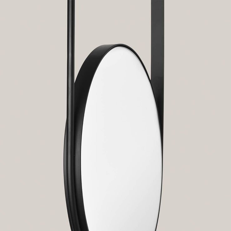 black danish design mirror by Kristina Dam studio