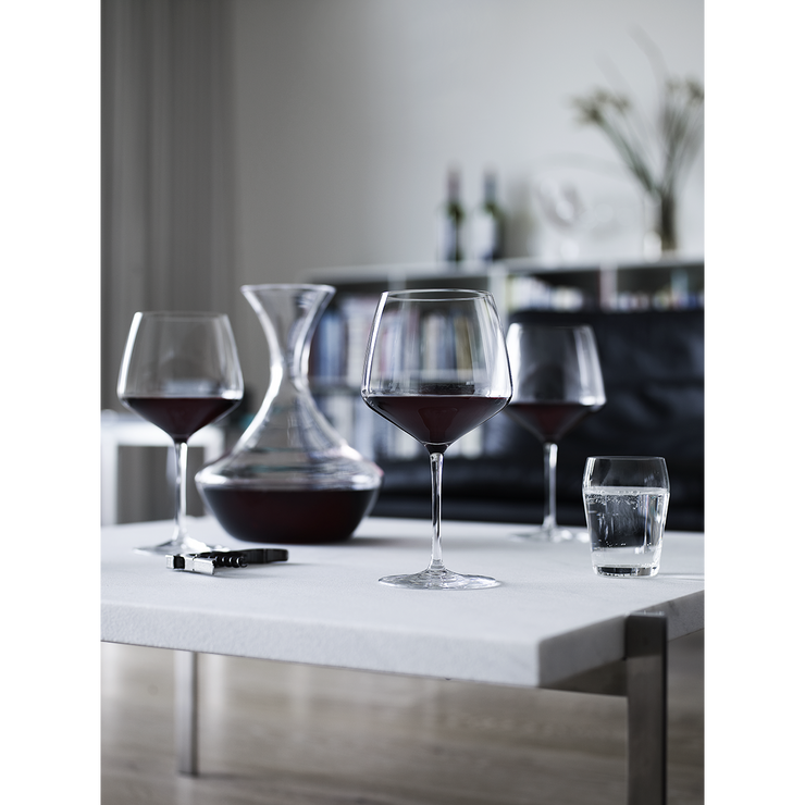 Holmegaard-Perfection-Burgundy-Glass-6Pcs.